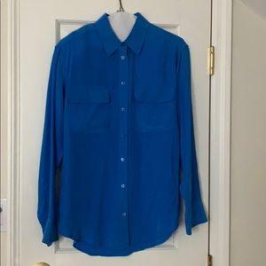 Equipment signature silk blouse size xs